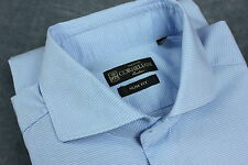 CORNELIANI SLIM FIT Men Long Sleeve Casual Shirt [SZ 40 15 ¾ or ~M-L ITALY MADE!