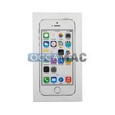 Emballage boite originale iPhone 5S argent