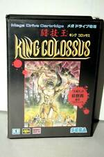 KING COLOSSUS GIOCO USATO OTTIMO STATO SEGA MEGA DRIVE ED JAPAN FR1 38913