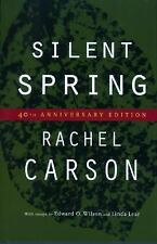 Silent Spring by Rachel Carson (2002, Hardcover, Teacher's Edition of Textbook)
