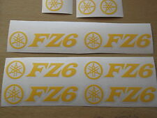Yamaha FAZER FZ1 FZ6 FZ8 PANEL CHAIN GUARDFAIRING Decals Stickers 12Year