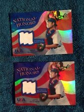 Jeff Clement Upper Deck SP Prospects USA Baseball Card Authentic Game Worn