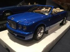 1/18 Minichamps Bentley Azure 2006 Convertible BLUE Cabriolet 100139501