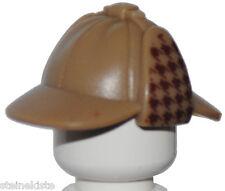 LEGO® Deerstalker Mütze Hut Sherlock Detektiv Zubehör für Figur helmet hat NEU
