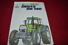 Deutz DX 140 Tractor Dealer's Brochure CNNB