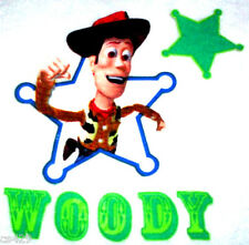 "4.5""  DISNEY TOY STORY   WOODY SET CHARACTER   FABRIC APPLIQUE IRON ON"