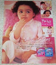 2008 ad page - Huggies baby Pull-Ups training diaper RUBY girl PRINT Advertising