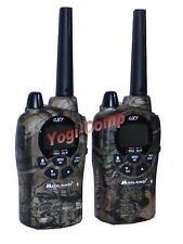 Midland GXT-1050 GXT1050 GMRS X-TRA TALK 2-Way Camo Walkie Talkie Radio + NOAA