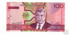 Turkmenistan 100 manat  2005 pick 18  FDS lotto 2351