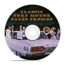 Classic Ford Motor Sales Promotional Films, Ads, Vintage Car Promos, DVD-J35