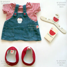 DESIGN A BEAR DENIM CAKE DRESS TEDDY COSTUME WAISTCOAT OUTFIT CLOTHES BUILD