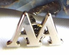 Alcoholics Anonymous Sobriety Recovery AA Silver Plated Lapel Hat Vest Pin