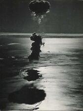 Bombe atomique - Essai nucléaire français à Mururoa. En 1970.