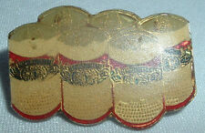 VINTAGE MINIATURE BUDWEISER 6 PACK BEER CANS TIE TACK HAT LAPEL PIN IN GIFT BOX
