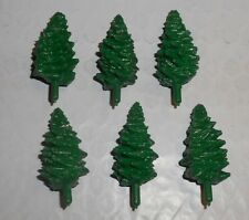 Six Trees For Gilbert James Bond 007 Race Set-- New Old Stock--Free Shipping