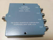 Power-Divider, 4-Way, Narda, 4321C-4