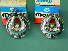 NOS Mopar 1977-79 Chrysler Lebaron 4 Door Roof Emblem Set