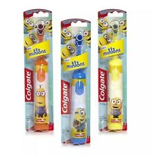 Colgate Minions Battery Powered Kids Children Toothbrush NEXT DAY POST