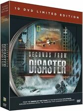 SECONDS FROM DISASTER 10 DVD COLLECTION LIMITED EDITION TIN NATIONAL GEOGRAPHIC
