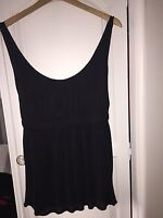 Jigsaw Navy Blue Top Size Small