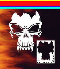 Skull 10 Airbrush Stencil Spray Vision Template air brush