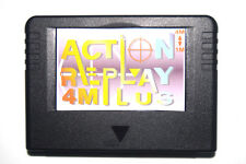Action replay plus 4M Sega Saturn Nuevo New RAM Negro