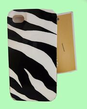 "Original MICHAEL KORS ""Zebra"" Black/White iPhone 4 Cover Case Msrp $38.00"