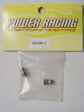 Power Racing X81080-1 SWAY BAR BALL ENDS:FITS POWER RACING XR-8 & XR-80