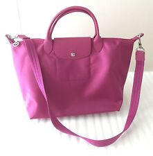 NWT Longchamp Le Pliage Neo Tote Shoulder Bag in Hydrangea MSRP $245.00