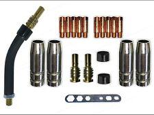 Reparatur Teileset MB14 / TBI 140 Brennerhals Gasdüse, MIG/MAG 0,6 Stromdüse