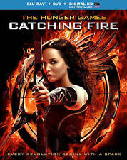 The Hunger Games Catching Fire NEW Bluray & DVD disc/case/cover-no digital/slip