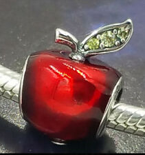PD style big hole European slide snow white apple Dress Charm new gift fairytale