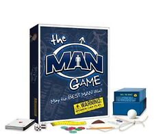 THE MAN GAME May the Best Man Win! ADULT BOARD GAME *New / Sealed*