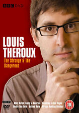 LOUIS THEROUX - THE STRANGE & THE DANGEROUS - DVD - REGION 2 UK