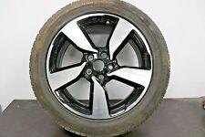 "1 x Genuine Original Nissan Qashqai 18"" Alloy wheel Black Diamond Cut Spare NTec"