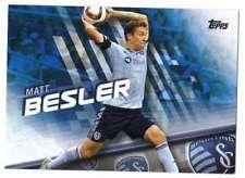 2016 Topps MLS Soccer Blue Parallel /99 #24 Matt Besler Sporting Kansas City