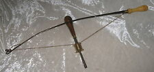 Rare LEON PAUL BOW w/ BOW DRILL Steel & Brass CHUCK Marked SHEFFIELD? on Handle