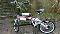 "Brand New 20"" Electric Folding Bike Powered by 36V  Samsung  lithium Battery"