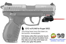 ArmaLaser GTO for Ruger SR22 - Red Laser Sight w/ FLX48 Grip Touch Activation