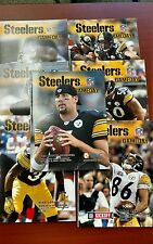 2006/Pittsburgh Steelers HEINZ FIELD Game Day  Programs Lot 7 RARE