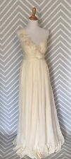 New J.CREW Collection Dune Gown $995 Ivory Size 6