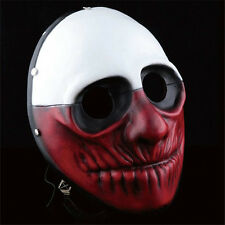 Payday 2 The Heist Wolf Collection Resin Mask Halloween Prop Cosplay Costume