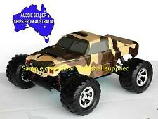 1:10 RC Clear Lexan Body Shell Hummer H1 for Monster Truck or Crawler Colt