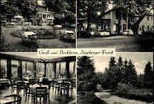 BOCKHORN Holstein Gruss aus Mehrbild-AK Segeberger Forst AK Gasthaus ~1950/60