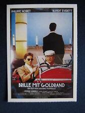 Filmplakatkarte / moviepostercard cinema   Brille mit Goldrand   Philippe Noiret
