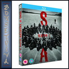 SONS OF ANARCHY - COMPLETE SERIES SEASON 5 **BRAND NEW BLU RAY**