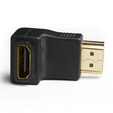 3pcs, HDMI M/F(HDMI Male to HDMI Female) 90 Degree Right Angle Adapter Converter