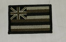 US ARMY PATCH ,HAWAII STATE FLAG, MULTICAM , NO  VELCR
