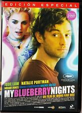 Wong Kar Wai: MY BLUEBERRY NIGHTS con Jude Law, Natalie Portman.