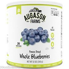 Augason Farms Frz Dried Whole Blueberries Emergency Survival Camping Fruit Food